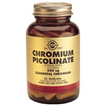 When to take chromium picolinate for weight loss